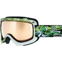 UVEX - Uvex sioux cf black/whitegreen dl/litemi Kayak Gözlüğü