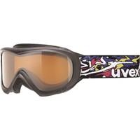 UVEX - Wizzard dl Black Dl/Gold Kayak Gözlüğü