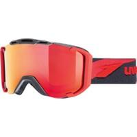 UVEX - Uvex snowstrike LTM black-red mat dl/ltm Kayak Gözlüğü