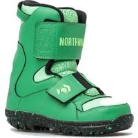 Northwave Lf Kid Green Çocuk Snowboard Ayakkabısı Yeşil