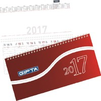 Gıpta 506-Pxk Parc 16x33 Masa Takvimi 2017