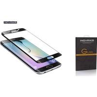Inovaxis Koruyucu Ambalajında Samsung Galaxy S7 Edge 3D Kavisli Kırılmaya Dayanıklı Temperli Cam Ekran Koruyucu (Siyah - Black)