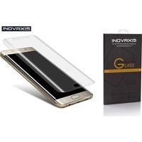 Inovaxis Koruyucu Ambalajında Samsung Galaxy S7 Edge 3D Kavisli Kırılmaya Dayanıklı Temperli Cam Ekran Koruyucu (Şeffaf)