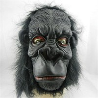 Partistok Cadılar Bayramı Goril Maskesi 3