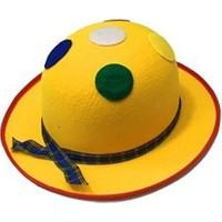 Partistok Palyaço Şapkası Benekli Sarı