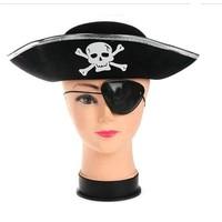 Partistok Çocuk Korsan Şapka Maske Seti