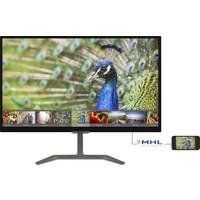"Philips 246E7QDAB/00 23.6"" 5ms (Analog+DVI-D+MHL/HDMI) Full HD IPS Monitör"