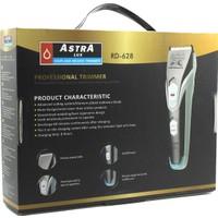 Astra Lüx Şarjlı Ense Saç Ve Sakal Traş Makinesi Rd-628   Gri