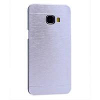 Kny Samsung Galaxy C7 Kılıf Metal Motomo +Cam
