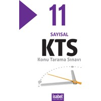 İsabet 11.Konu Tarama Sınavları Sayısal