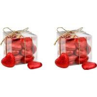 Bolçi Mini Kalp Kutu Çikolata 100 Gr c 2 Adet