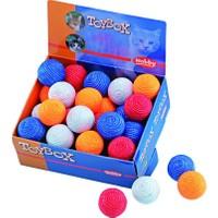 Nobby Sisal Top Renkli ve Parlak Kedi Oyun Topu 4,5 cm