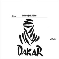 StickerMarket dakar Siyah Sticker