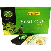 Akzer Limonlu Yeşil Çay Bitki Çayı