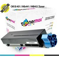 Toner Max® Oki B401 / Mb411 / Mb441 / Mb451 / 44992404 Ekonomik Muadil Toneri