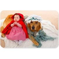Fotografyabaskı Kırmızı Başlıklı Bebek Ve Büyükannesi Rolünde Dikdörtgen Mouse Pad