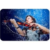 Fotografyabaskı Violin Çalan Kadın Dikdörtgen Mouse Pad