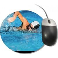 Fotografyabaskı Yüzme Yuvarlak Mouse Pad