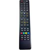 Electroon Vestel Lcd Led Tv Kumanda Turuncu Tuşlu Lcd-573