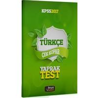 Beyaz Kalem Yayınları Kpss 2017 Türkçe Çek Kopar Yaprak Test