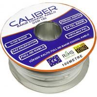 Caliber Rg6U6 Bakır Anten Kablosu 100 Metre