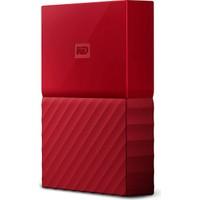 """WD My Passport 2TB2,5"""" USB 3.0 Kırmızı Taşınabilir Disk WDBYFT0020BRD"""