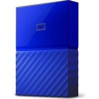"""WD My Passport 1TB2,5"""" USB 3.0 Mavi Taşınabilir Disk WDBYNN0010BBL"""
