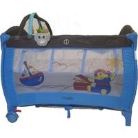 Babylife 994 70X110 Oyun Parkı-Gri Mavi