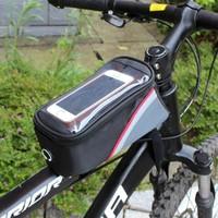 Roswhell Bisiklet Çantası Kadro Üstü Su Geçirmez Dokunmatiktelefon Bölmeli