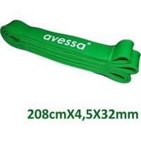 Avessa Lateks Güç Bandı 32 Mm Yeşil