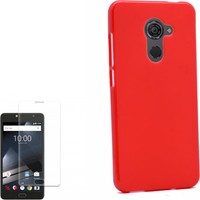 Gpack Vodafone Smart Pro 7 Kılıf Süper Silikon + Cam