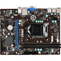 MSI H81M-E33 Intel H81 1600MHz DDR3 Soket 1150 mATX Anakart