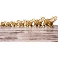 7'Li Fil Altın Biblo LNY822
