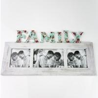 Ahşap Fotoğraf Çerçevesi Family 42X21,5 cm LN778