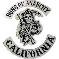 Moda Roma Sons Of Anarchy Büyük Boy Arma