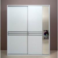 Doruk Aynalı Sürgülü Gardırop 160 cm