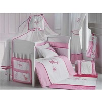 DinoBoo Gıraffe Pink 60x120 Uyku Seti