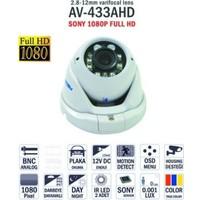 Avenir Av-433Ahd 1080P Dome İç Mekan Kamera