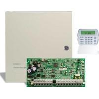Dsc Pc 1616 Alarm Paneli + Büyük Metal Kabinet + Pk 5501 Şifre Paneli