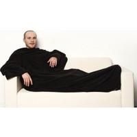 Helen's Giyilebilir Kollu Polar Battaniye-Siyah
