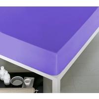 Home De Bleu Tek Kişilik Pamuk Çarşaf Lila 100x200 cm