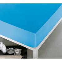Home De Bleu Tek Kişilik Pamuk Çarşaf Mavi 140x200 cm