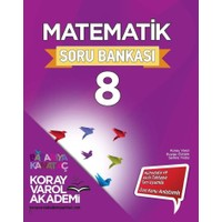 Koray Varol Akademi 8. Sınıf Matematik Soru Bankası - Koray Varol
