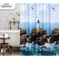 Prado Light House Banyo Perdesi, Duş Perdesi 180X200Cm