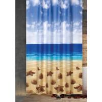 Prado Beach Banyo Perdesi, Duş Perdesi 180X200Cm