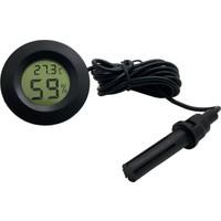 Buzdolabı İçin Problu Termometre Sıcaklık Saati ,Nem Ölçer Thr159