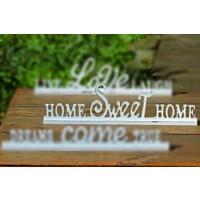 Angels İn Town Home Sweet Home Dekoratif Yazı