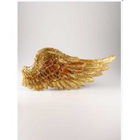 Angels İn Town Myth Melek Kanadı (Sağ) Duvar Süsü Gold
