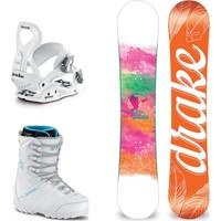 Drake Charm Bayan Snowboard Set