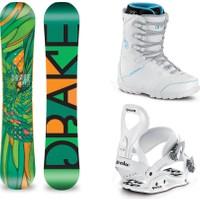 Drake Venice Bayan Snowboard Set